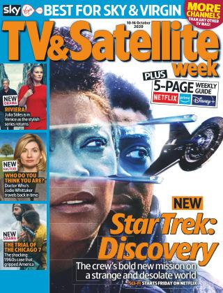 TV & Satellite Week 10th October 2020