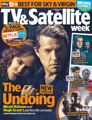 TV & Satellite Week 24th October 2020
