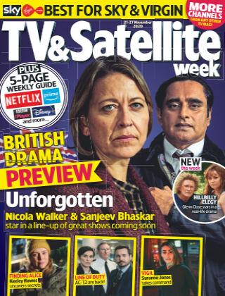 TV & Satellite Week 21st November 2020