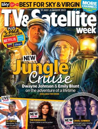 TV & Satellite Week 31-Jul-21