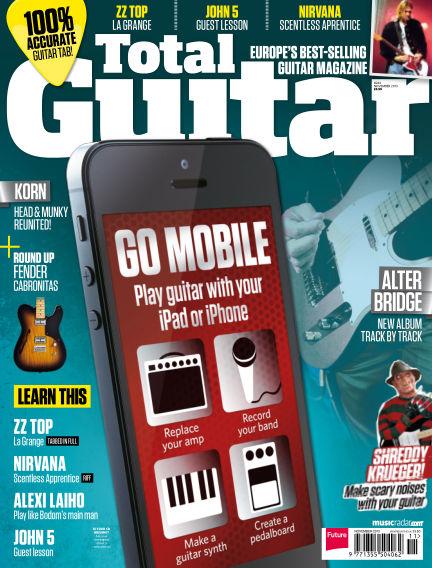 Total Guitar October 01, 2013 00:00