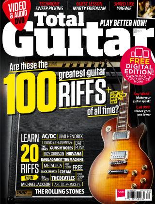 Total Guitar October 2014