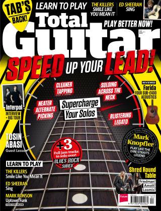 Total Guitar April 2015