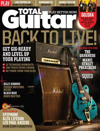 Total Guitar August