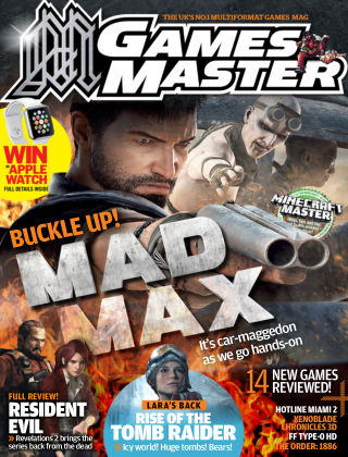 GamesMaster May 2015