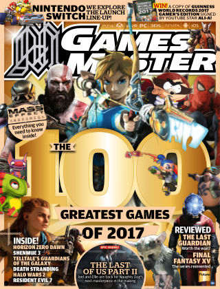GamesMaster January 2017