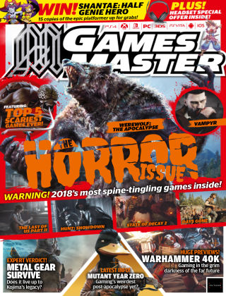 GamesMaster Apr 2018
