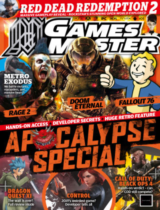 GamesMaster Oct 2018