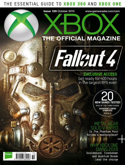 Official Xbox Magazine August 28, 2015 00:00