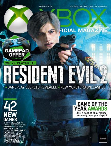 Official Xbox Magazine December 14, 2018 00:00