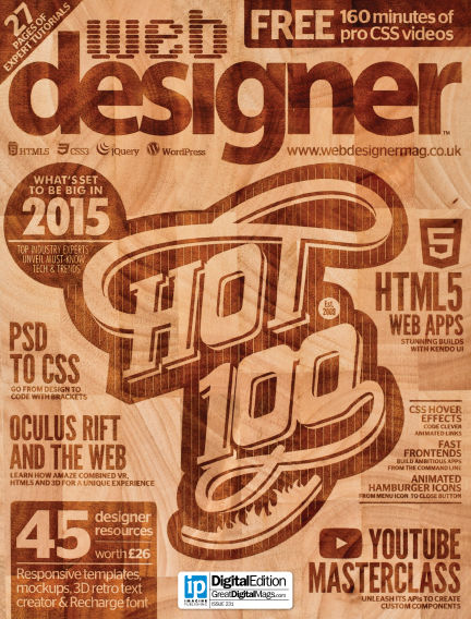 Web Designer January 08, 2015 00:00