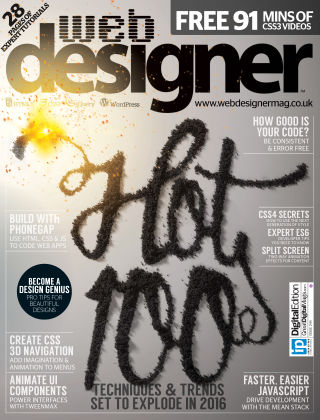 Web Designer Issue 244