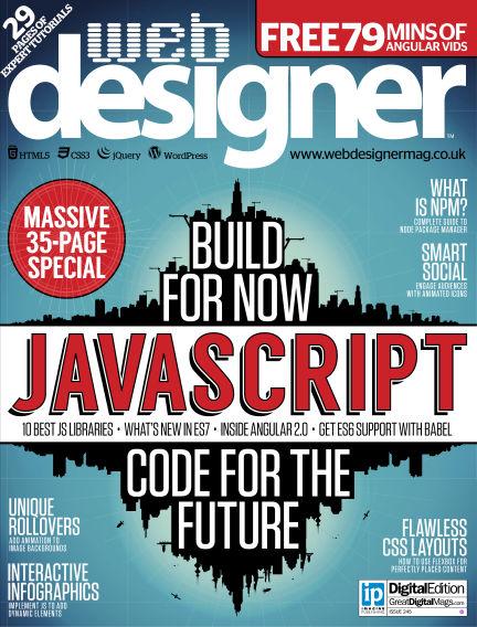 Web Designer February 04, 2016 00:00