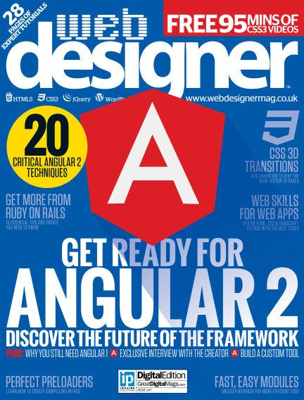 Web Designer March 31, 2016 00:00