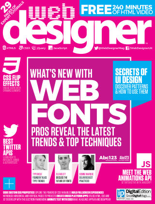 Web Designer Issue 254