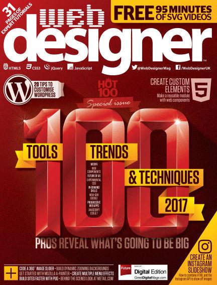 Web Designer January 05, 2017 00:00