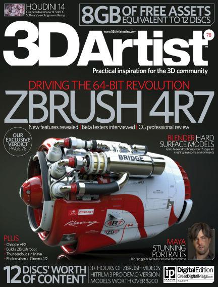 3D Artist March 03, 2015 00:00