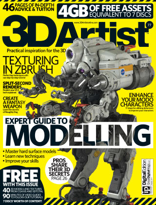 3D Artist Issue 77