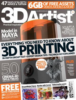 3D Artist Issue 079
