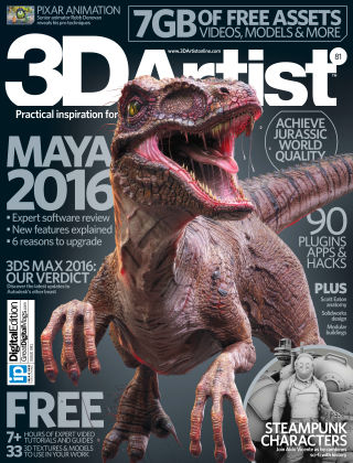 3D Artist Issue 081