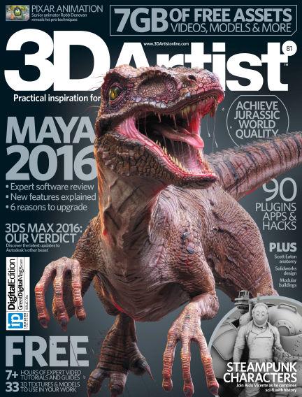 3D Artist May 20, 2015 00:00