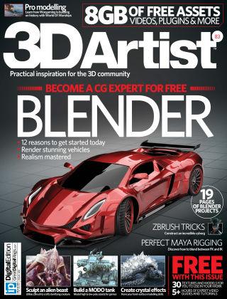 3D Artist Issue 083