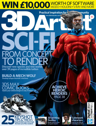 3D Artist Issue 085