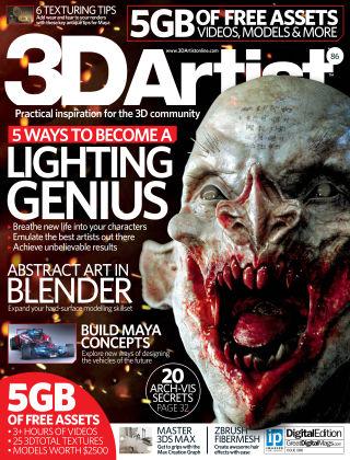 3D Artist Issue 086