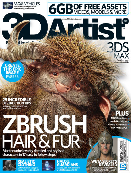 3D Artist November 03, 2015 00:00