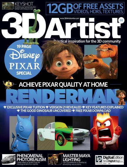3D Artist November 27, 2015 00:00