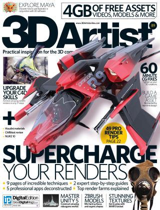 3D Artist Issue 089