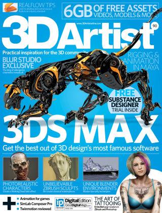 3D Artist Issue 090