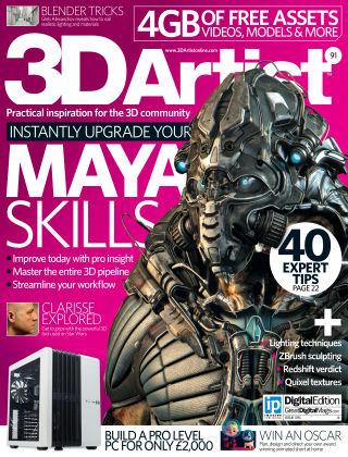 3D Artist Issue 091