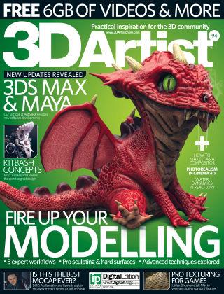 3D Artist Issue 094