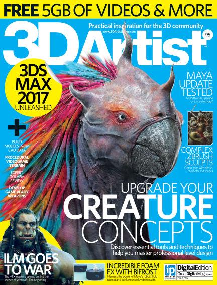 3D Artist June 15, 2016 00:00