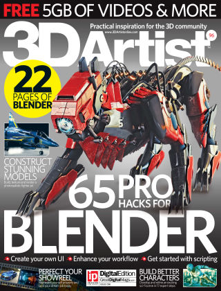 3D Artist Issue 096