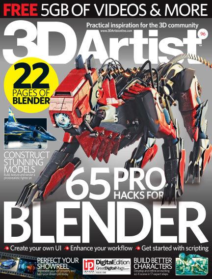 3D Artist July 13, 2016 00:00