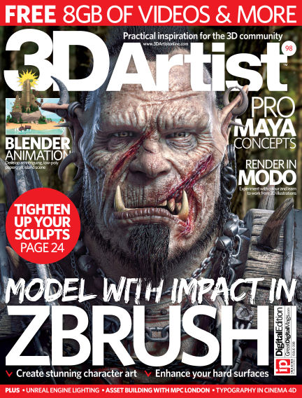 3D Artist September 07, 2016 00:00