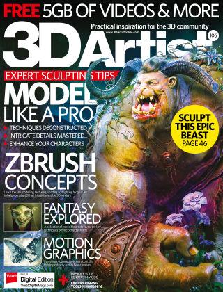 3D Artist Issue 106