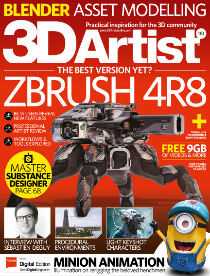 3D Artist August 09, 2017 00:00
