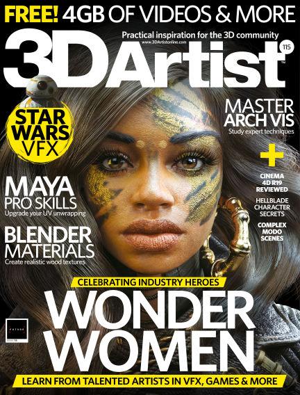 3D Artist January 11, 2018 00:00