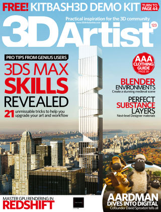 3D Artist Issue 123