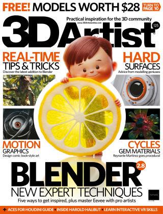 3D Artist Issue 125