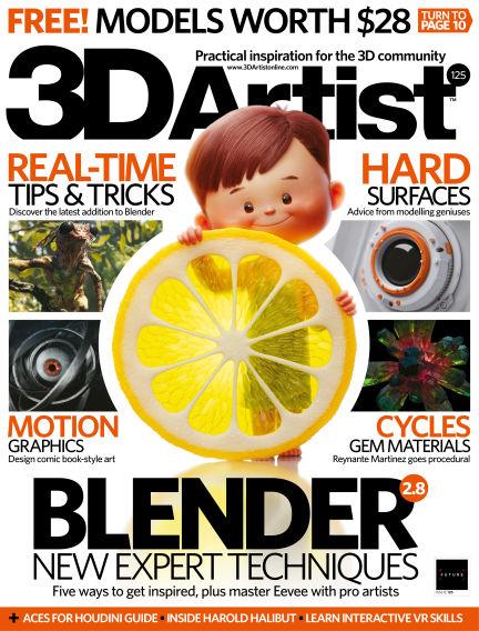 3D Artist October 23, 2018 00:00