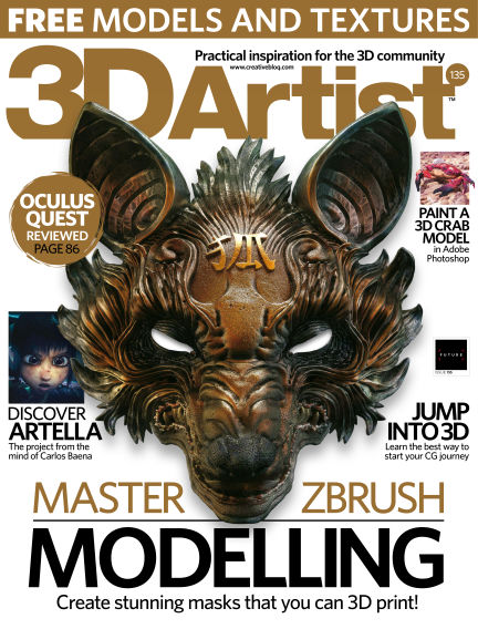 3D Artist July 30, 2019 00:00