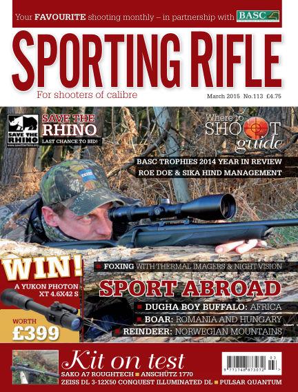 Sporting Rifle January 29, 2015 00:00
