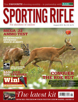 Sporting Rifle August