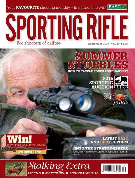 Sporting Rifle August 13, 2015 00:00