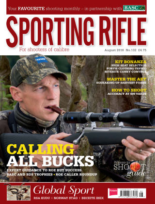 Sporting Rifle August 2016