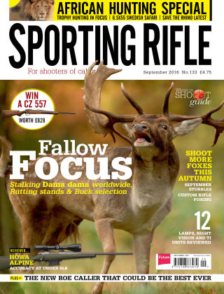 Sporting Rifle September 2016